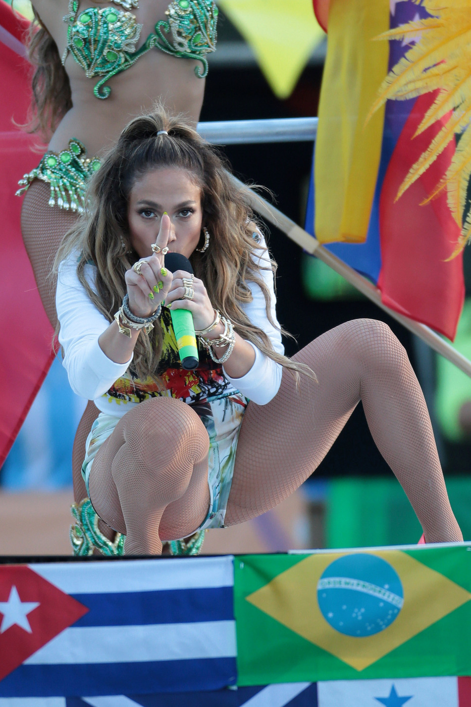 Jennifer Lopez's Close Call