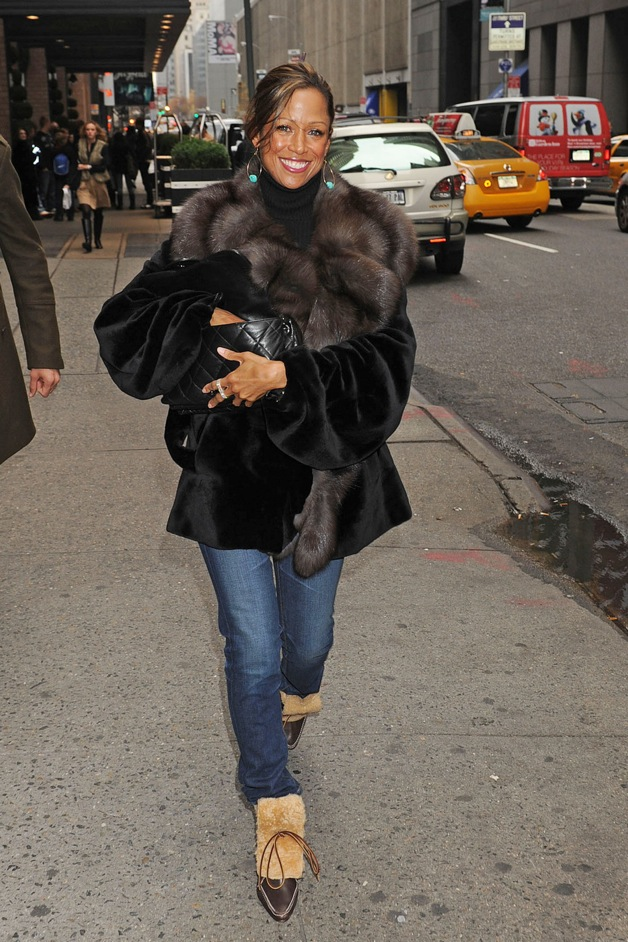 Stacey Dash spotted out in New York.