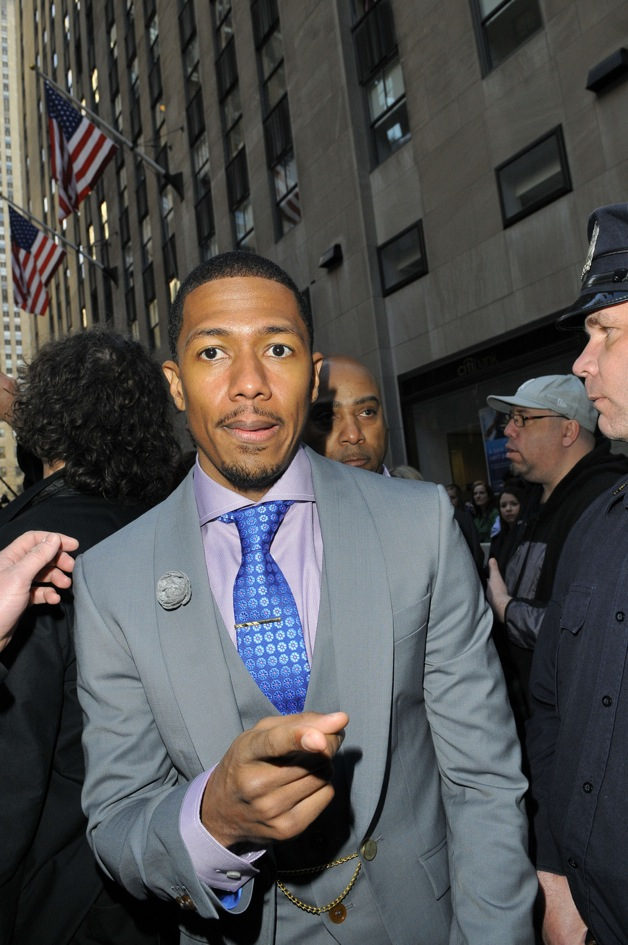 Nick Cannon seen at 'The Today Show' in New York City
