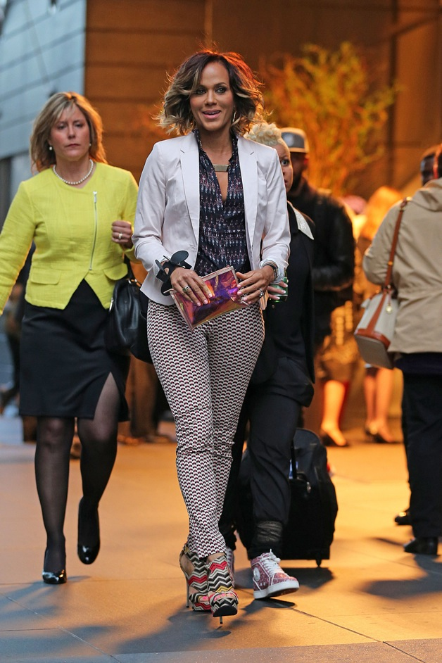 Actress Nicole Ari Parker spotted out and about in New York City