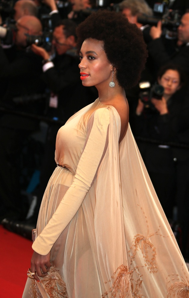 Solange Knowles attends 'The Great Gatsby' premiere for the opening night of the 66th Cannes Film Festival at the Palais des Festivals