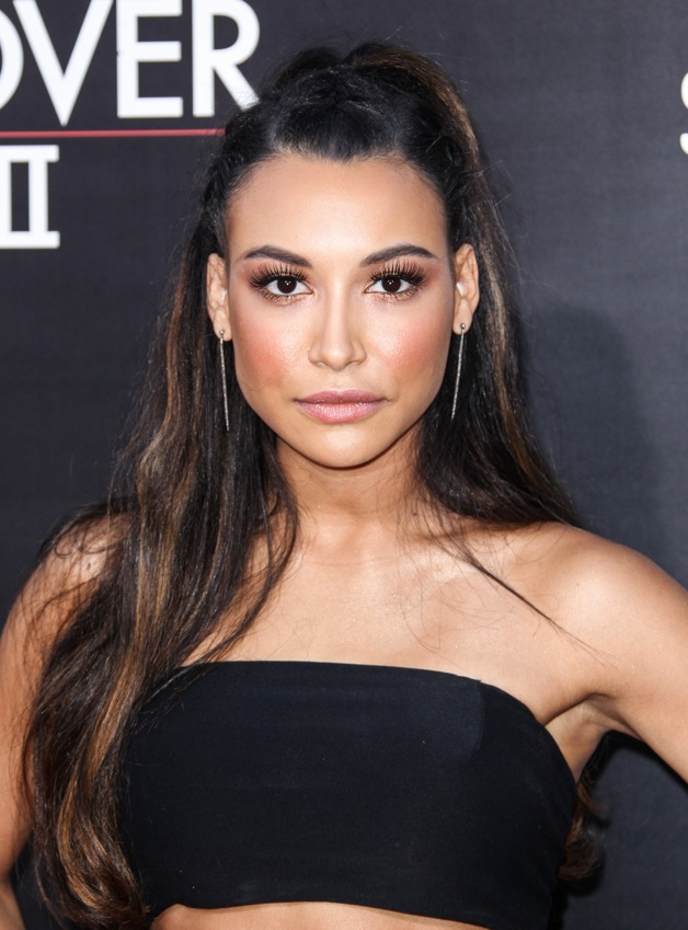 Naya Rivera attending the premiere of Warner Bros. Pictures' 'The Hangover Part 3' at the Westwood Village Theater in Los Angeles