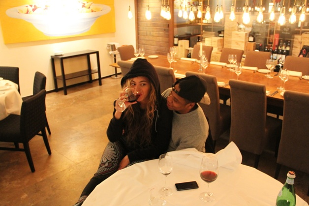 Beyonce Drinks Wine