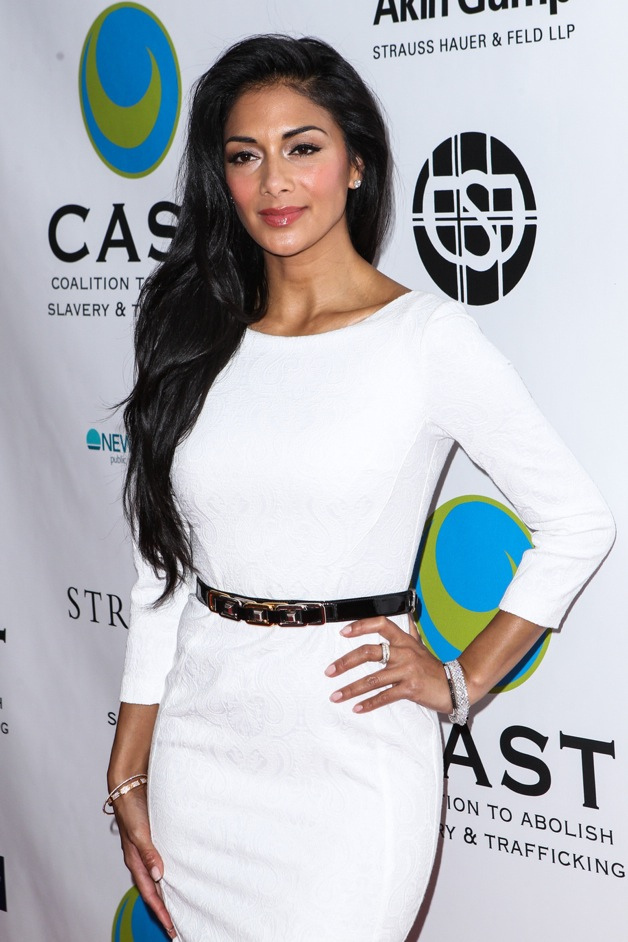 Nicole Scherzinger arrives at The Coalition To Abolish Slavery And Trafficking 15th Annual From Slavery To Freedom Event at Sofitel Hotel in Los Angeles