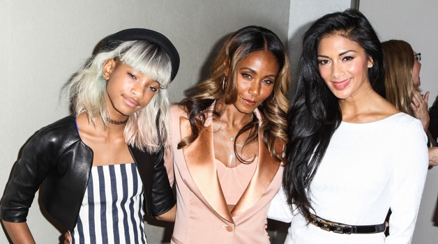 Willow Smith, Jada Pinkett Smith and Nicole Scherzinger arrive at The Coalition To Abolish Slavery And Trafficking 15th Annual From Slavery To Freedom Event at Sofitel Hotel in Los Angeles