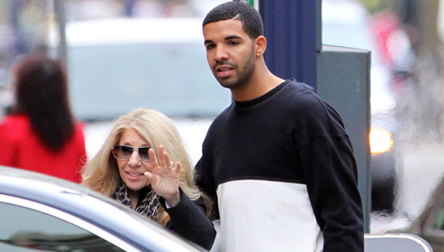 Drake Spotted Spending... Drake And His Mom 2013