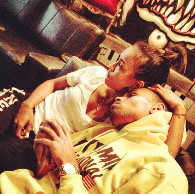 Brown and Karrueche