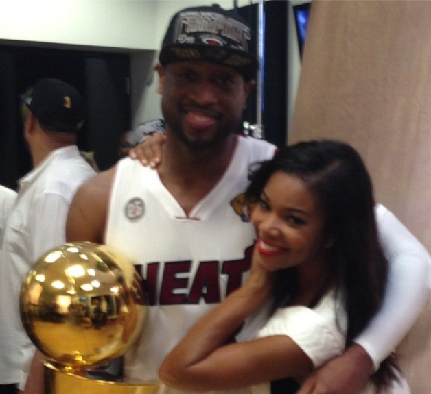 Gabrielle Union and Dwayne Wade Married