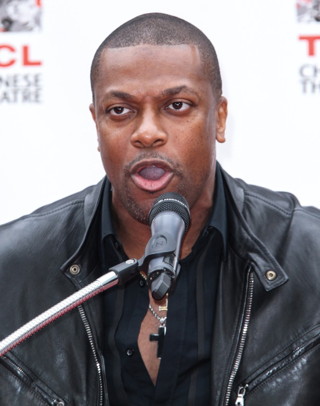 Chris Tucker attends the Jackie Chan Hand and Foot Print Ceremony at TCL Chinese Theatre in Hollywood