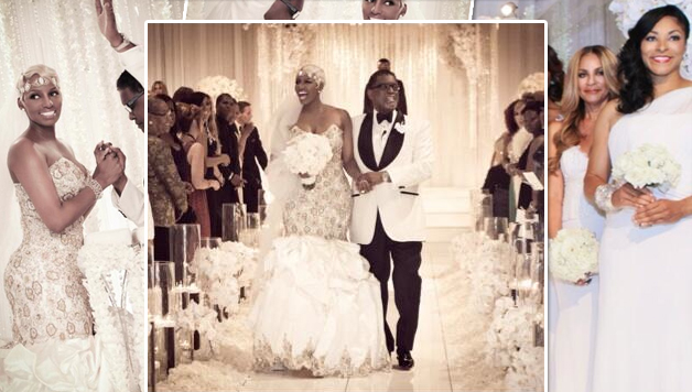 Nene Leakes Reveals Her 50 000 Wedding Dress Hiphollywood