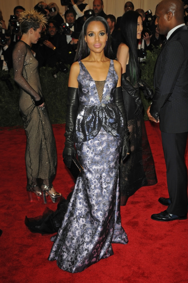 Kerry Washington attends the Metropolitan Museum of Art's Costume Institute Gala benefit in honor of the museum's latest exhibit, Punk: Chaos to Couture, in New York City