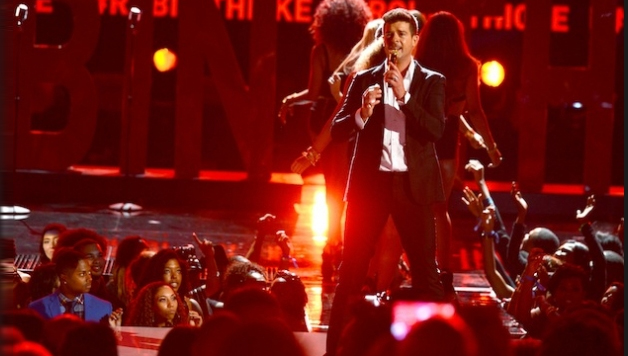 Robin Thicke Performs 'Blurred Lines' On Today Show + Addresses ...