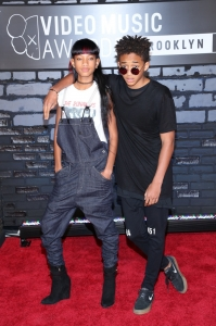 Willow Smith and Jaden Smith attend the 2013 MTV Video Music Awards at the Barclays Center in the Brooklyn borough of New York City