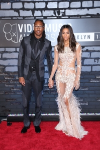 Ciara attends the 2013 MTV Video Music Awards at the Barclays Center in the Brooklyn borough of New York City