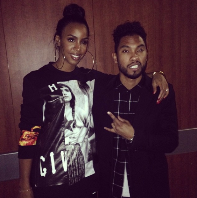 Kelly and Miguel
