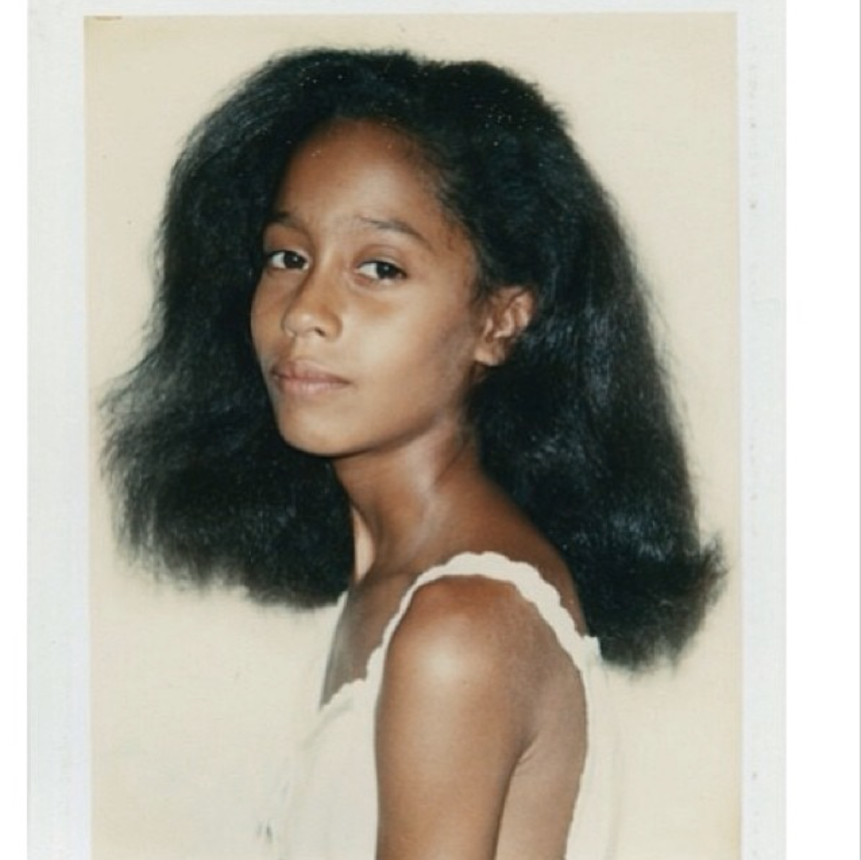 Tracee Ellis Ross Posts Childhood Warhol Picture, Putting ...