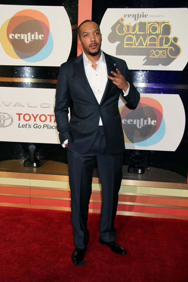Lyfe Jennings attending the 2013 BET Soul Train Awards 2013 at the Orleans Arena in Las Vegas