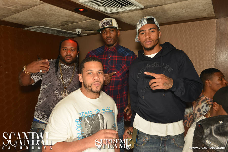 NFL star Desean Jackson and his crew