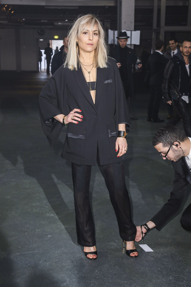 """Noomi Rapace seen at the """"Givenchy"""" fashion show during the Paris Fashion Week in Paris"""