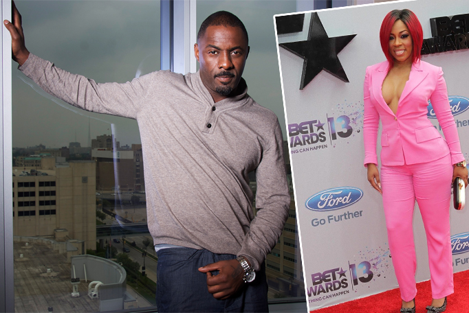 Idris Elba Hooking Up With K. Michelle? – HipHollywood