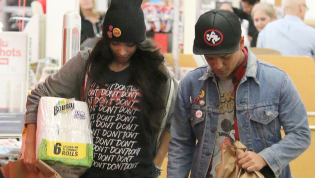91f05a70fb766 Couple Alert  Bruno Mars And Girlfriend Jessica Caban Spotted Out In LA -  HipHollywood