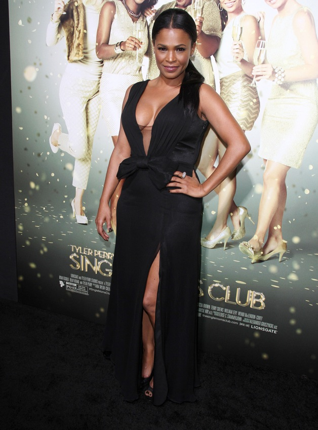 Nia Long attends the premiere of 'The Single Moms Club' in LA