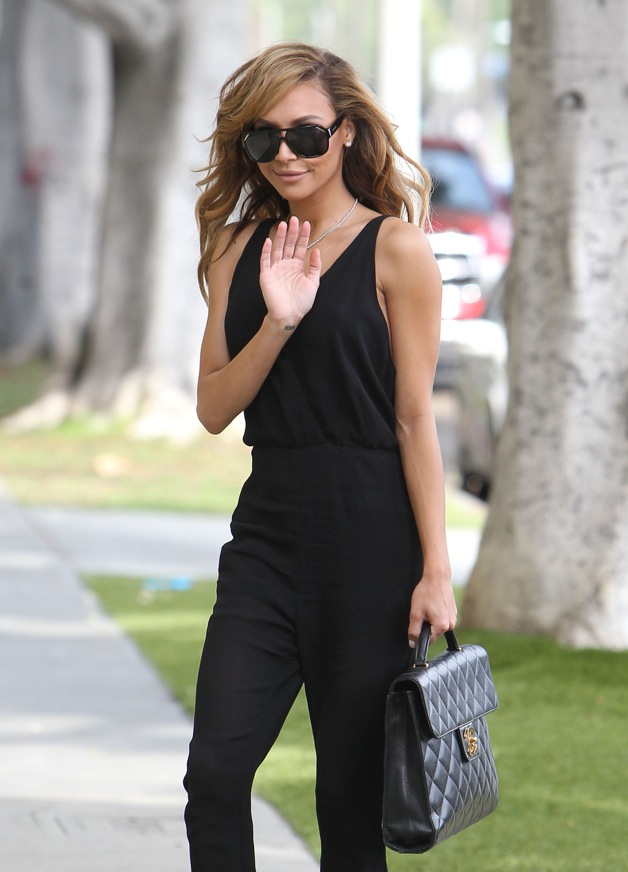 IT'S OFF - Naya Rivera and fiance Big Sean have called off their 7-month engagement, seen here on March 29th without her ring