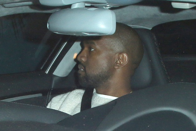 Kanye West seen leaving Chateau Marmont in Los Angeles