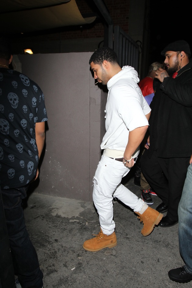 Star Studded Night At LA Hot Spot: Drake, Rihanna ...