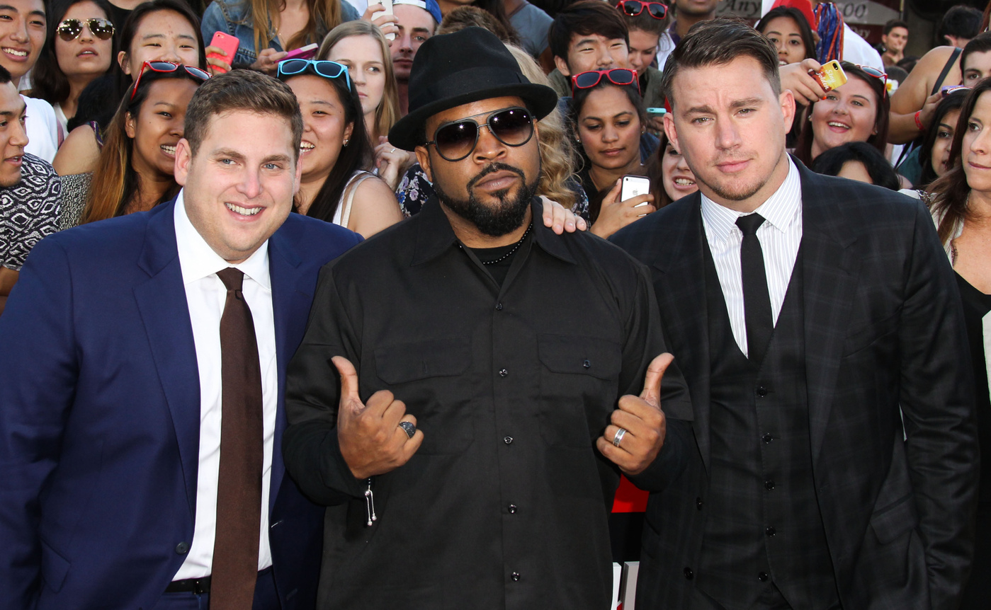 Jonah Hill, Ice Cube, Channing Tatum at the World Premiere Of Columbia Pictures' '22 Jump Street' at the Regency Village Theatre in Westwood