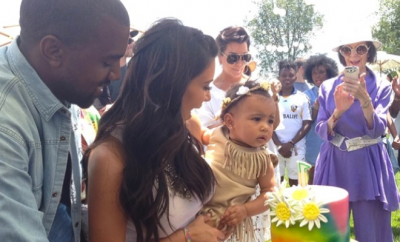 Kim K. North West Bday