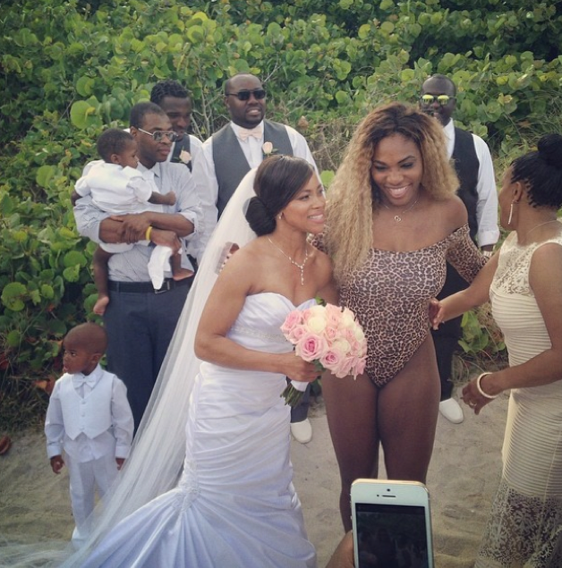 We Can't Make This Up: Serena Williams Crashes Wedding