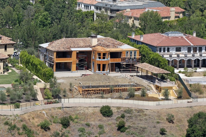 Kim Kardashian and Kanye West are reportedly considering selling the $11 million mansion they are renovating in Bel Air