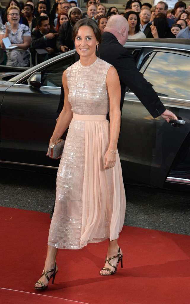 Pippa Middleton attends the GQ Men Of The Year Award at Royal Opera House, Covent Garden in London