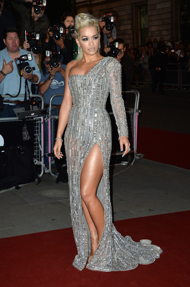 Rita Ora attends the GQ Men Of The Year Award at Royal Opera House, Covent Garden in London