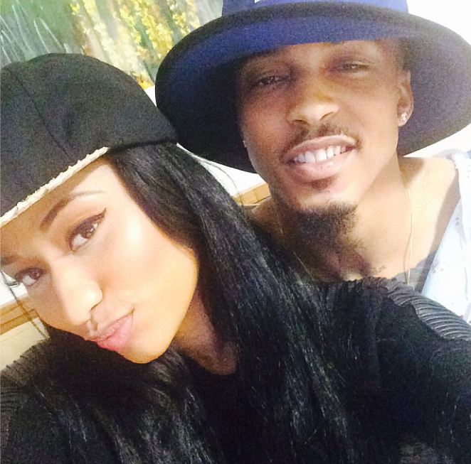 August Alsina Girlfriend August, who collapsed on stage