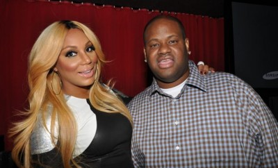 Tamar-and-Vince-at-listening-party-at-the-Jazz-Room-in-NYC