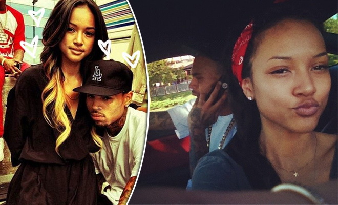 Karrueche Tran Is Not Pregnant With Chris Browns Baby Hiphollywood