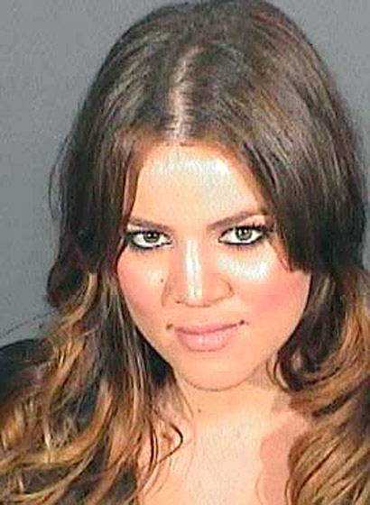 """The fun Kardashian, aka Khloe, probably didn't have much fun when she was incarcerated for just a few hours due to her DUI conviction in 2008. They even showed her perp walk on that season of """"Keeping Up With The Kardashians""""."""