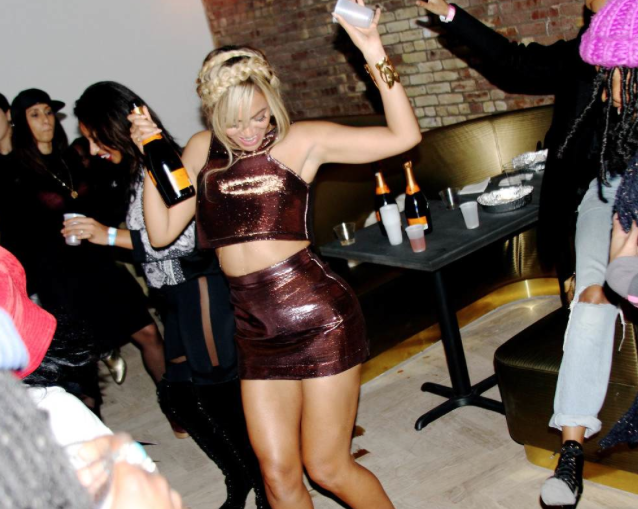 Bey, likes to partyyy!