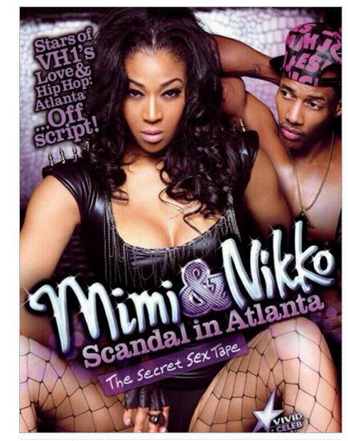 MiMi Faust, Nikko Smith and a shower rod starred in this sex tape.  Apparently the Love & Hip Hop Atlanta stars have the highest grossing sex tape Vivid ever released (yes, even higher than Kim K & Ray J)