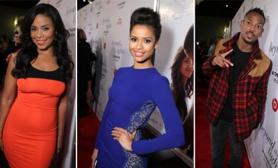 """(l-r) Gina Prince-Bythewood, Minnie Driver and Gugu Mbatha-Raw at the Los Angeles Premiere of """"Beyond the Lights"""""""