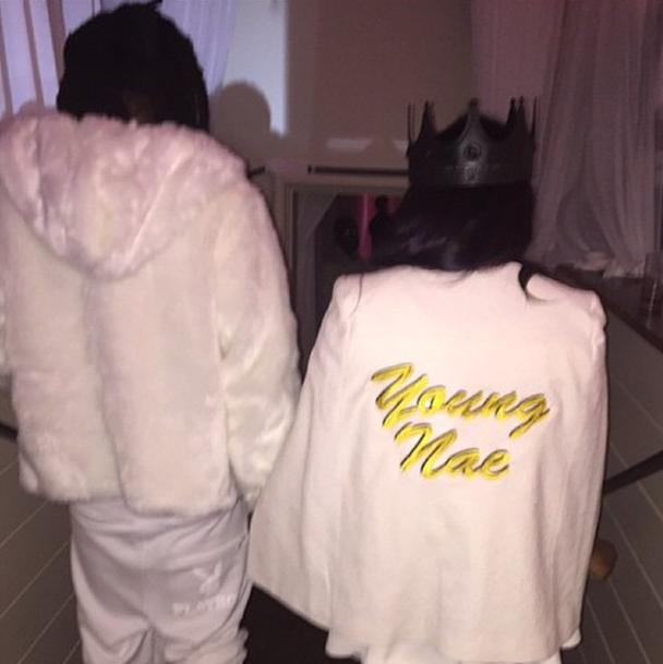 Reginae and her daddy, Lil Wayne.