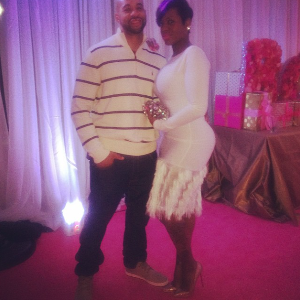 Fantasia and her boo.