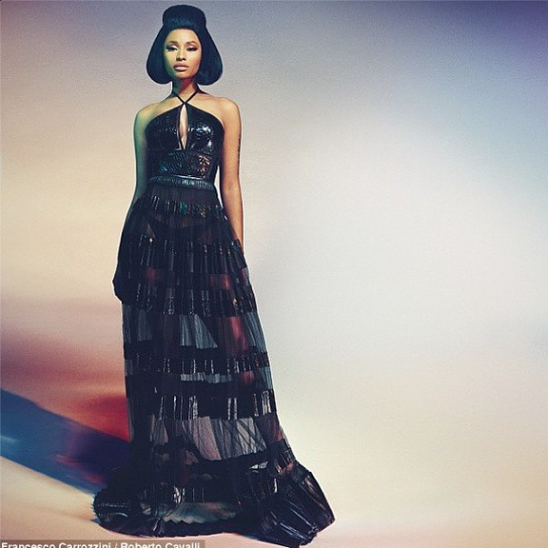 Nicki Minaj for Roberto Cavalli. Stunning!