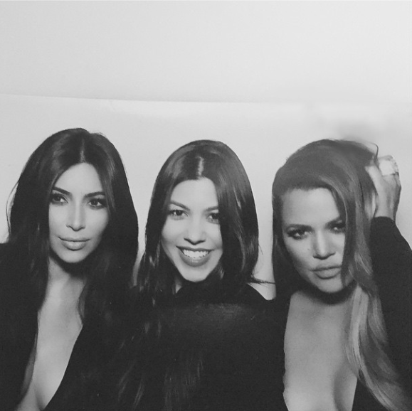 Kim Kardashian-West, Kourtney Kardashian and Khloe Kardashian