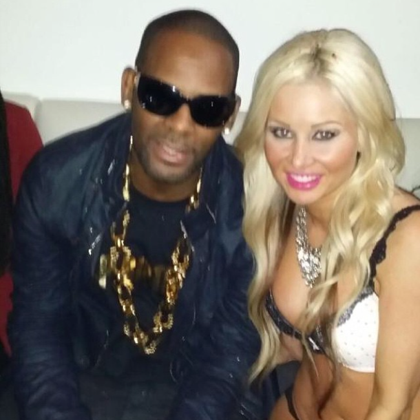 R. Kelly and Sarah Oliver