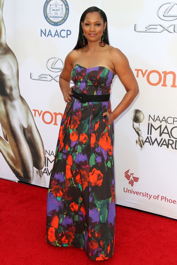 Garcelle Beauvais attends The 46th Annual NAACP Image Awards-Arrivals in LA