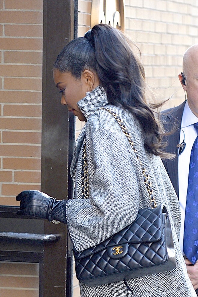 Gabrielle Union seen at the ABC Studio for 'The View' in New York City
