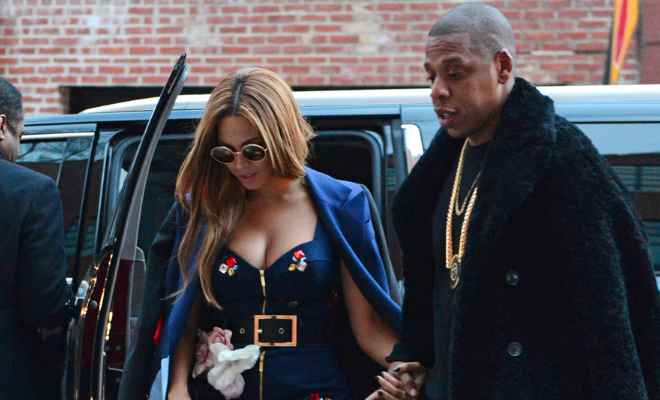 Photos: Jay Z, Beyonce Stun In New York - HipHollywood